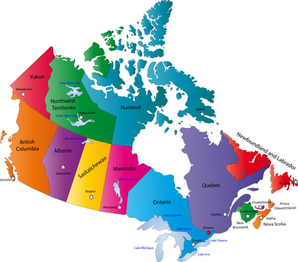 провинциальные программы канады