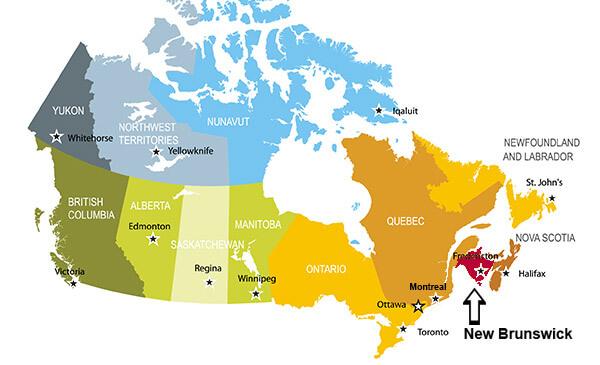 нью брунсвик иммиграция в канаду