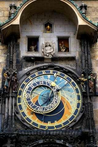 осенние каникулы в Праге
