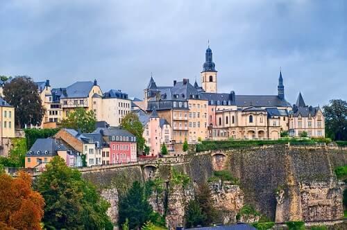 визовый центр Люксембурга